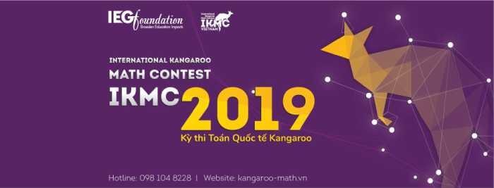 Thông báo Lịch thi Toán Quốc tế Kangaroo 2019